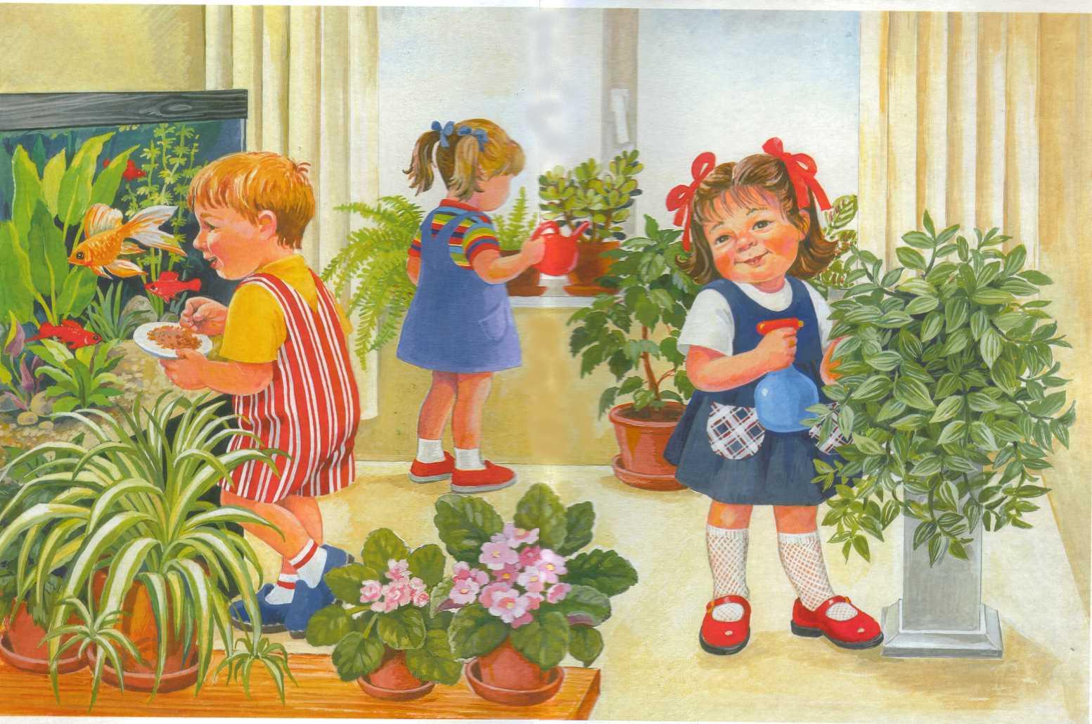 Детские работы в детском саду картинки